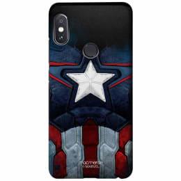 Macmerise Captain America Suit Polycarbonate Back Case Cover for Xiaomi Redmi Note 5 Pro (XACR5PSMM0306, Multicolor)_1