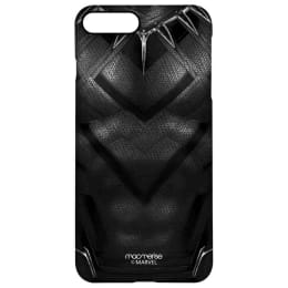 Macmerise Suit Up Black Panther Polycarbonate Back Case Cover for Apple iPhone 8 Plus (IPCI8PPMM1890, Black)_1
