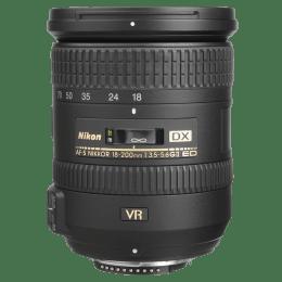 Nikon Nikkor AF-S DX 18-200 mm F3.5-F5.6 Lens (ED VR 2, Black)_1