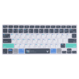 Robobull Mellow Azure Keyboard Protector for 11 Inch Apple MacBook Air (Mellow 05, Blue/Green)_1