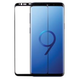 Robobull 3D Edge To Edge Toughn Tempered Glass Screen Protector for Samsung Galaxy S9 (3400000200, Black)_1
