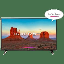 LG 124 cm (49 inch) 4k Ultra HD LED Smart TV (49UK6360PTE, Black)_1