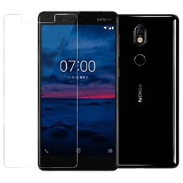 RedFinch Tempered Glass Screen Protector for Nokia 7 Plus (Transparent)_1