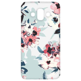 RedFinch Flower Print Hard Back Case Cover for Samsung Galaxy J7 (HDSM J7 Duo_FLW001, Multicolor)_1