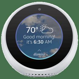 Amazon Echo Spot Smart Speaker (B074BL3R67, White)_1