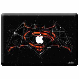 Macmerise Bat Super Trace Skin for 11 Inches Apple MacBook (MCS12RBS0002, Red)_1