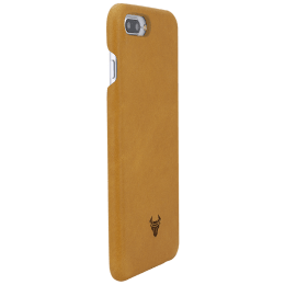 Robobull Smartkase Premium Leather Back Case Cover for Apple iPhone 7 Plus/8 Plus (3700023501, Honey)_1