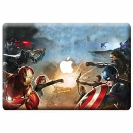 Macmerise Good Vs Right Skin for 11 Inches Apple MacBook (MCS12RMM0242, Multicolor)_1