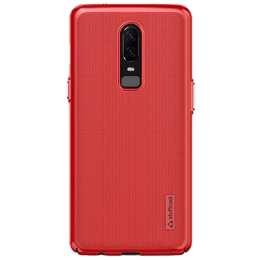 Stuffcool Corsa Plastic Back Case Cover for OnePlus 6 (CORSAONEP6, Red)_1