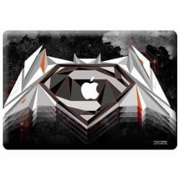 Macmerise Men Of Steel Skin for 11 Inches Apple MacBook (MCS13CBS0032, Black)_1
