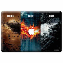 Macmerise Batman Trilogy Skin for 11 Inches Apple MacBook Air (MCS13ADK0026, Multicolor)_1