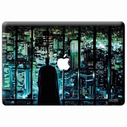Macmerise Watch My City Skin for 11 Inches Apple MacBook Air (MCS13ADK0098, Multicolor)_1