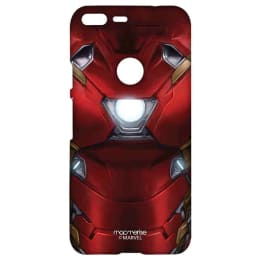 Macmerise Suit up Ironman Polycarbonate Sublime Back Case Cover for Google Pixel 2 (GOCGPXSMM1898, Red)_1