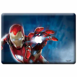 Macmerise Mighty Ironman Skin for 11 Inches Apple MacBook (MCS12RMM0278, Red)_1