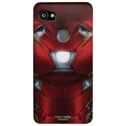 Macmerise Suit Up Ironman Polycarbonate Back Case Cover for Google Pixel 2 XL (GOC2XLSMM1898, Red)_1
