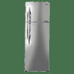 LG 284 L 3 Star Double Door Inverter Refrigerator (GL-T302RPZU, Shiny Steel)_1