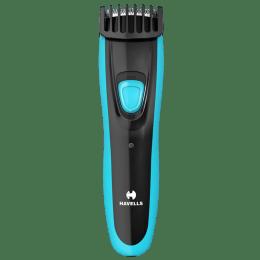 Havells BT6150C Stainless Steel Blades Cordless Beard Trimmer (4 Length Settings, Blue)_1