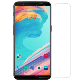 RedFinch Tempered Glass Screen Protector for OnePlus 5 (Transparent)_1