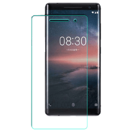 RedFinch Tempered Glass Screen Protector for Nokia 8 Sirocco (Transparent)_1
