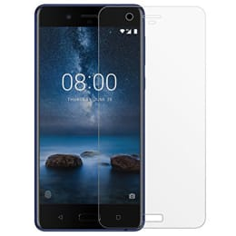 RedFinch Tempered Glass Screen Protector for Nokia 8 Steel (Transparent)_1