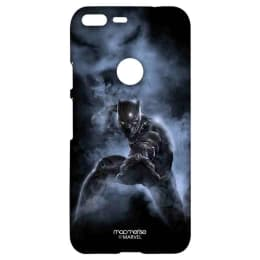 Macmerise Black Panther Attack Polycarbonate Back Case Cover for Google Pixel 2 (GOCGPXSMM0242, Black)_1