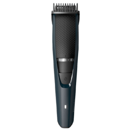 Philips Beardtrimmer Series 3000 Stainless Steel Blades Corded & Cordless Beard Trimmer (45 Min Run Time/10h Charge, 20 Length Settings, BT3205/15, Black)_1