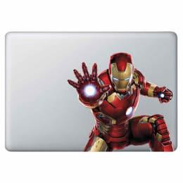 Macmerise Repulsor Beam Decal for 11 Inches Apple MacBook (MCDM13MM0074, Red)_1