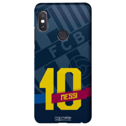Macmerise Classic Messi Polycarbonate Back Case Cover for Xiaomi Note 5 Pro (XACR5PSBA0380, Blue)_1