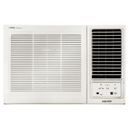Voltas 1.5 Ton 3 Star Window AC (183 EZM, Copper Condenser, White)_1