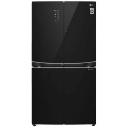 LG 981 L 3 Star Side by Side Inverter Refrigerator (GR-D31FBGHL, Black)_1