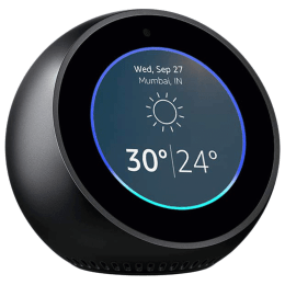 Amazon Echo Spot Smart Speaker (B01J6A7FGQ, Black)_1