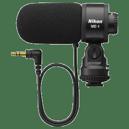Nikon Mini-Pin Plug 3.5 mm 2 Stereo Channel Mic (ME-1, Black)_1