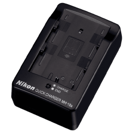Nikon Quick Camera Battery Charger (MH-18a, Black)_1