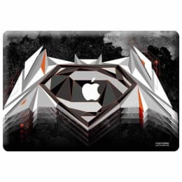 Macmerise Men Of Steel Skin for 11 Inches Apple MacBook Air (MCS11ABS0032, Black)_1