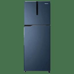 Panasonic 307 L 3 Star Frost Free Double Door Inverter Refrigerator (NRBG311VDA3, Blue)_1