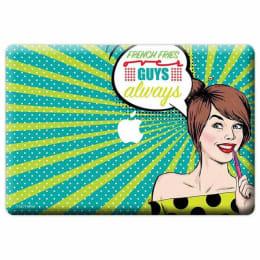 Macmerise Miss Vivacious Skin for 11 Inches Apple MacBook Air (MCS13AMI0074, Green)_1