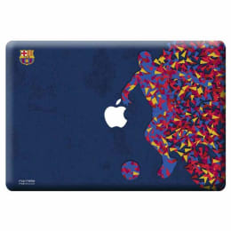Macmerise Fcb Asymmetrical Art Skin for 11 Inches Apple MacBook Air (MCS13ABA0038, Blue)_1