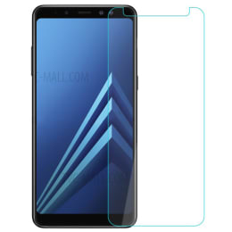 RedFinch Tempered Glass Screen Protector for Samsung Galaxy A8 Plus (Transparent)_1