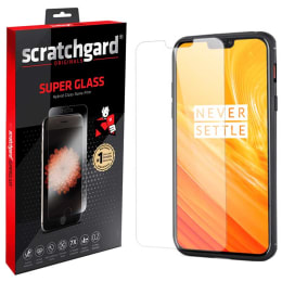Scratchgard Tempered Glass Screen Protector for OnePlus 6 (Transparent)_1