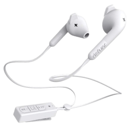 Defunc Basic Hybrid In-Ear Wired Earphones with Mic (14mm Driver Unit, White)_1