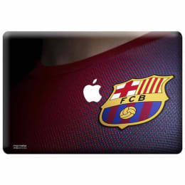 Macmerise Fcb Jersey Skin for 11 Inches Apple MacBook Air (MCS13ABA0080, Multicolor)_1