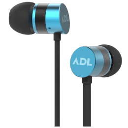 ADL Escape In-Ear Wired Earphones with Mic (S600, Blue)_1