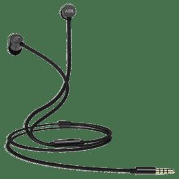 ADL Escape In-Ear Wired Earphones with Mic (S600, Gun Metal)_1