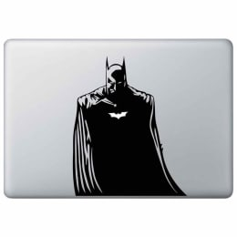 Macmerise The Dark Knight Decal for 11 Inches Apple MacBook Pro (MCD15RDK0092, Black)_1