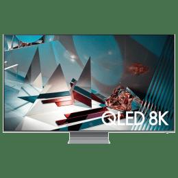 Samsung 208.28 cm (82 inch) 8k Ultra HD Smart QLED TV (QA82Q800TAKXXL, Eclipse Silver)_1