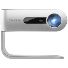 ViewSonic LED Portable Wireless Projector (M1 Plus, Silver)_1