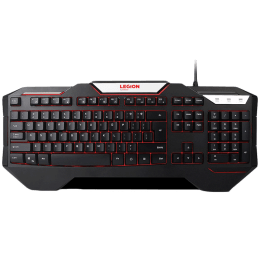 Lenovo Legion Wired Backlit Gaming Keyboard (K200, Black)_1