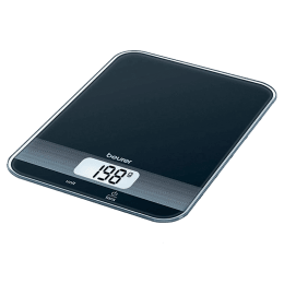 Beurer KS 19 Kitchen Weighing Scale (Black)_1