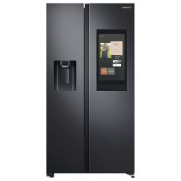 Samsung 657 Litres Frost Free Inverter Side-by-Side Door Refrigerator (Spacemax Technology, RS74T5F01B4/TL, Black Matt)_1