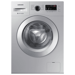 Samsung 6.5 kg 5 Star Fully Automatic Front Load Washing Machine (12 Wash Programs, WW66R20GKSS/TL, Silver)_1